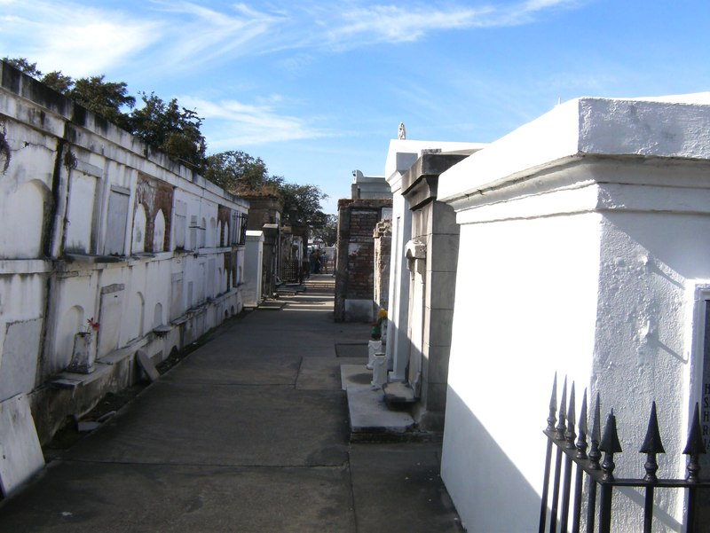 St Louis Cemetery in New Orleans