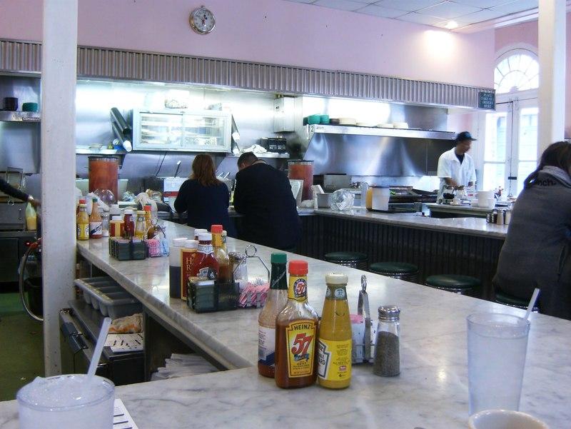 COrner NOLA Diner had betet rbreakfast than cafe Du Monde
