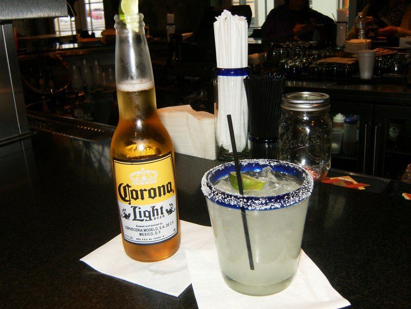 Margarita specials at Felipe's in the French Quarter