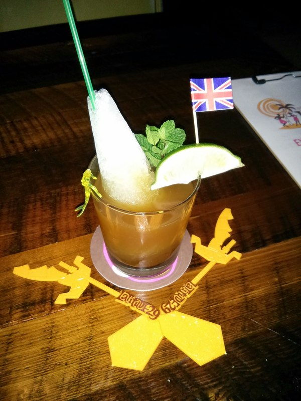Navy Grog at Latitude 29 Tiki Bar in new Orleans