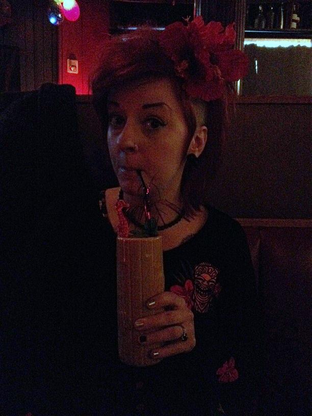 Meagan Kyla at Porco Lounge and Tiki Room in Cleveland, OH