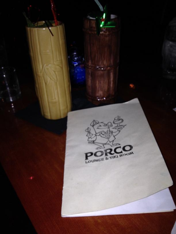 Porco Lounge and Tiki Room. Cleveland, OH
