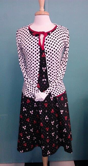 retro polka dot dress style ideas Voodoo Vixen bowling dress