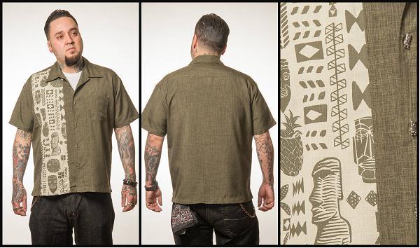 Steady Clothing Tiki shirt