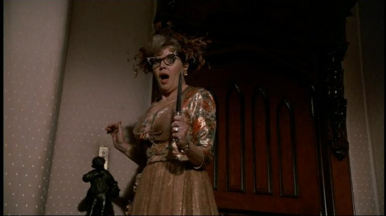 Mrs. Peacock retro movie fashion Clue the Movie