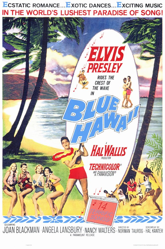 Blue Hawaii moive poster