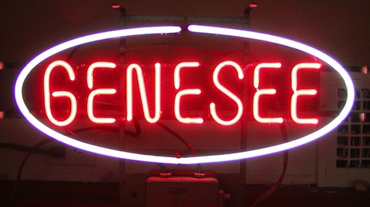 Genesee Beer Neon Sign
