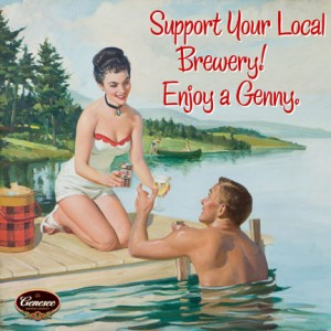 Genesee Beer Support your local brewery