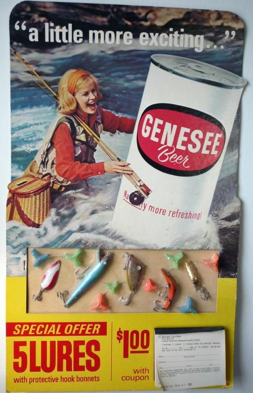 Genesee Beer Advertisement