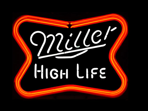 Miller High Life Neon Sign