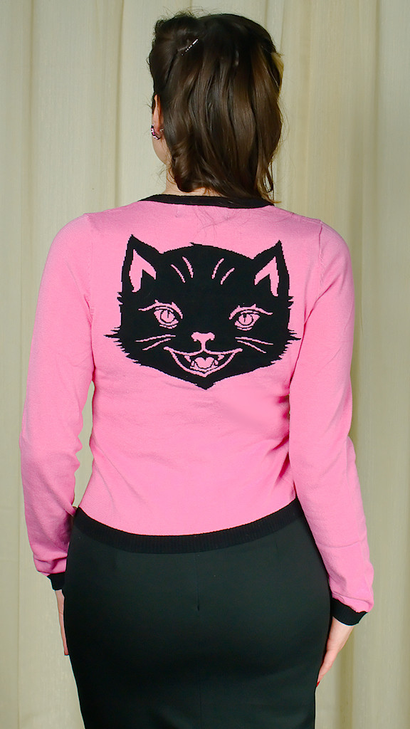"""Yet another piece by Sourpuss Clothing that will make them say, """"Me-Ow."""""""