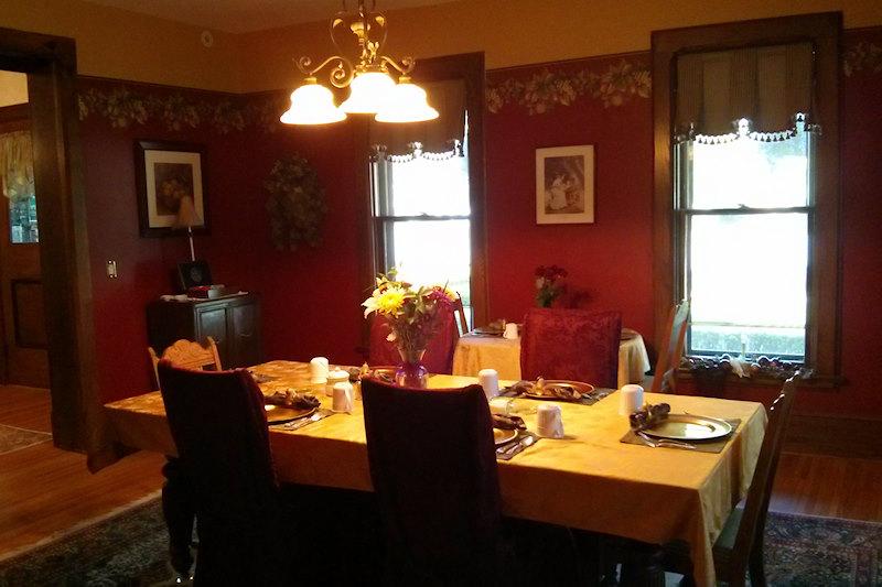 Dining room  Inn on the Main. Canandaigua, NY