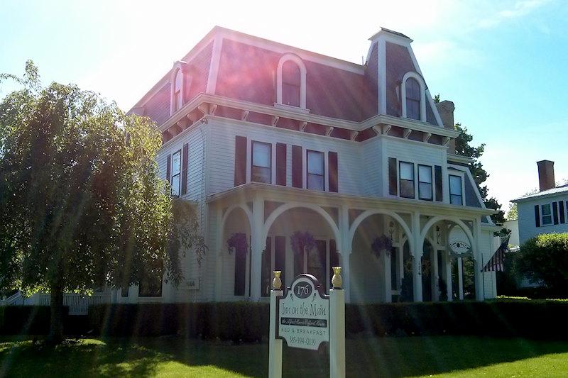 Exterior Inn on the Main. Canandaigua, NY