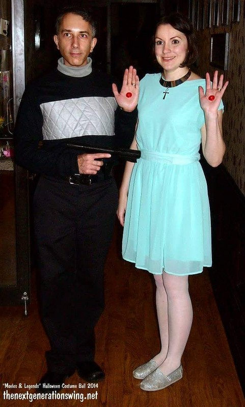 Logan's Run Halloween Costume Logan 5 and Jessica 6