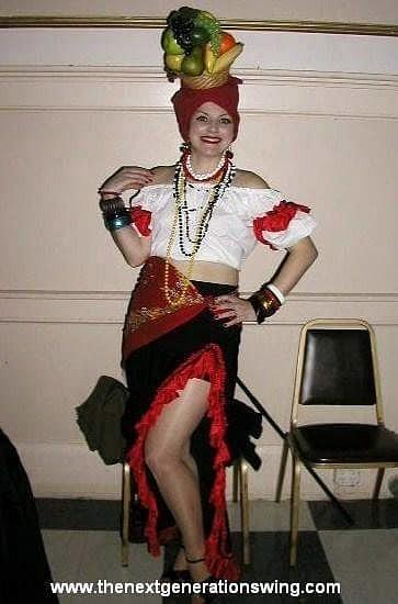 Carmen Miranda Halloween Costume