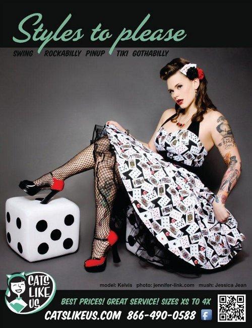 Kelvis ad for VLV Rockabilly Weekender 2012