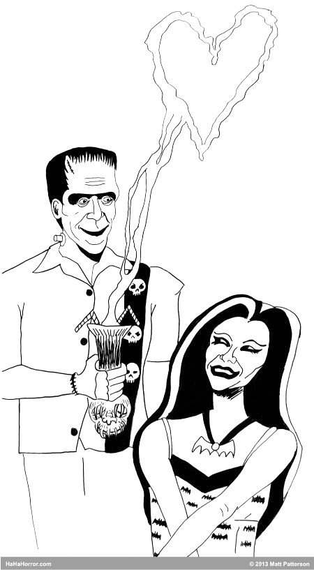 Monster Matt Patterson The Munsters Tiki