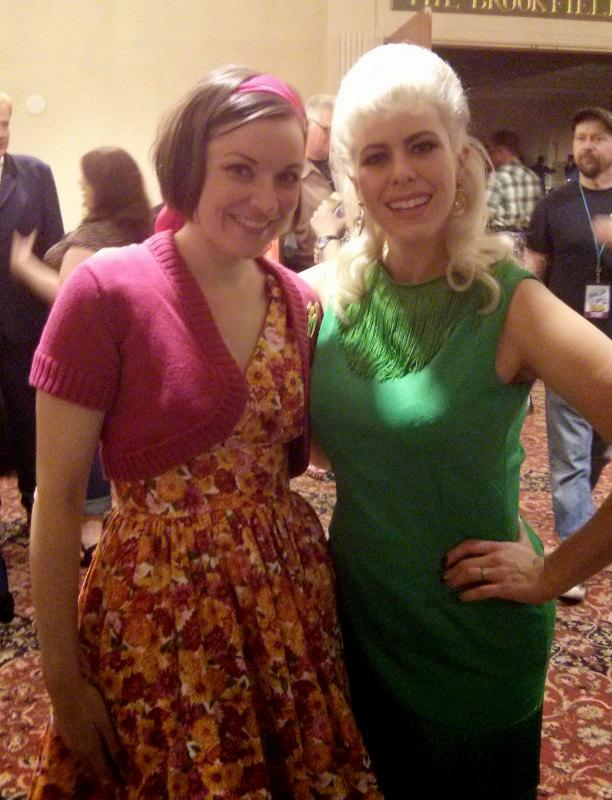 Julie Ann and Dollie, The Rockabilly Socialite
