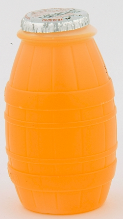 Little Hugs Orange Drink - barrel bottle