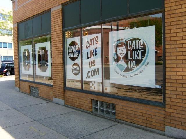 Cats Like Us Main Street Facade
