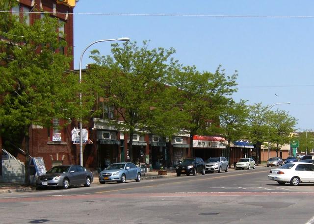Main Street in the City of Tonawanda