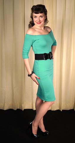 stretch retro wiggle dress Mode Merr