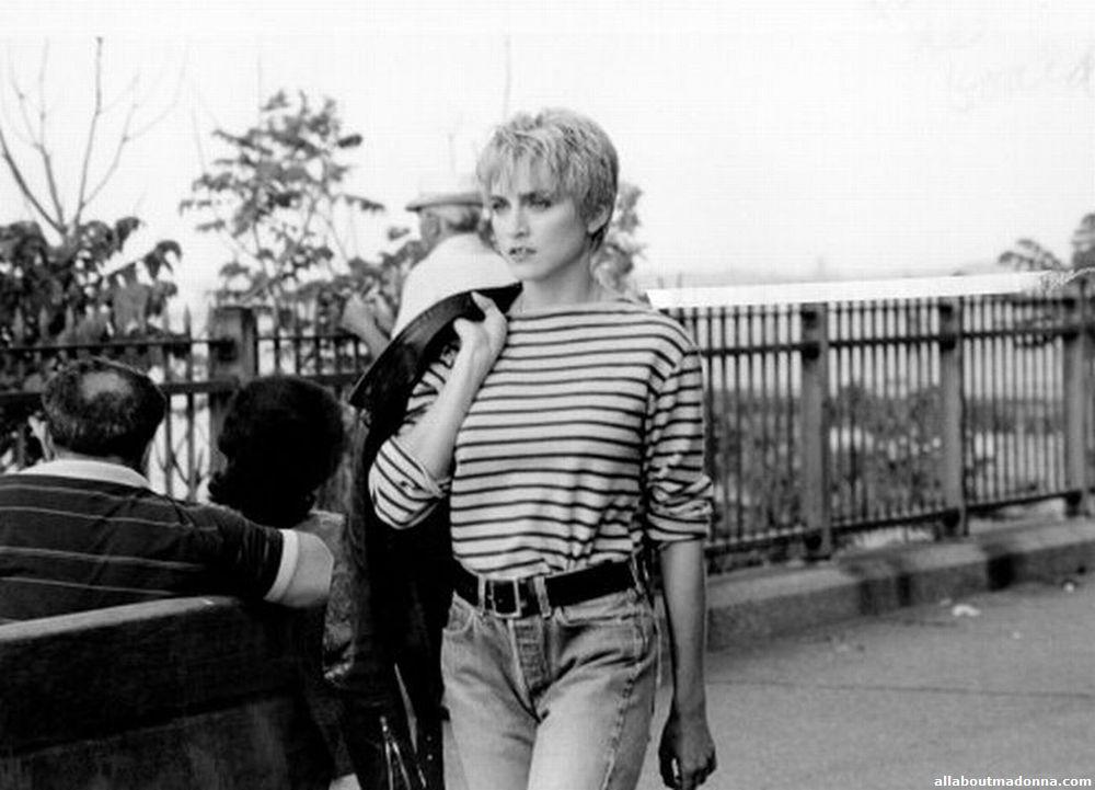 Kurt Cobain and Madonna